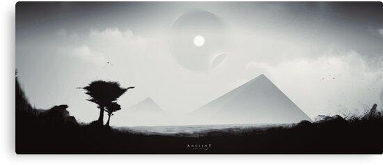 Ancient Messages - Digital Artwork von Lucas Dietrich