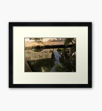 Fountain of Arethusa Mystery - Reflecting on Ancient Myths and Legends Framed Print