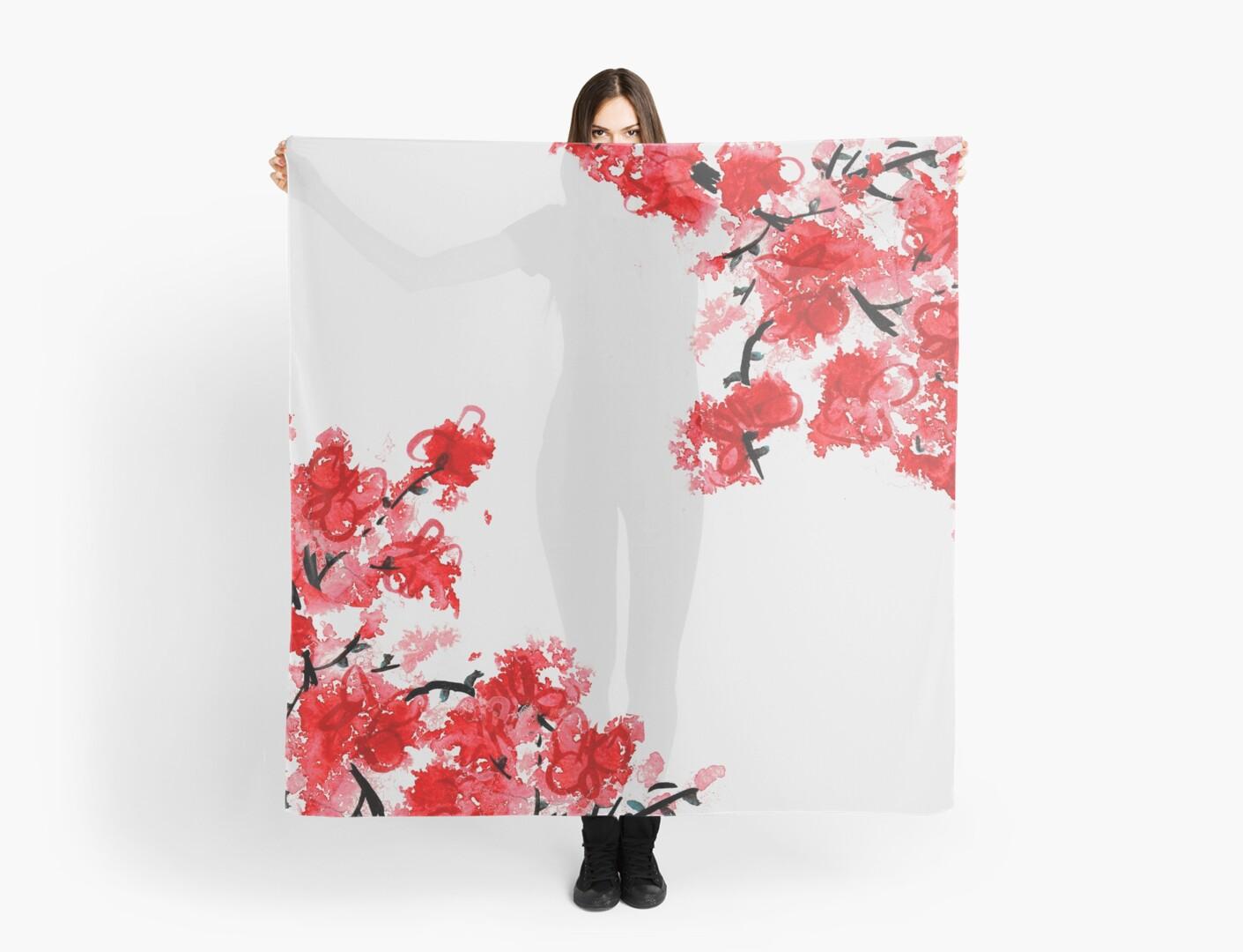 Cherry Blossoms by Kathie Nichols