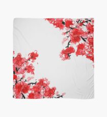 Fleurs de cerisier Foulard