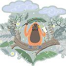 «Orangutan divertido» de craftipixel