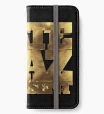 Nate Diaz 209 Represent GOLD iPhone Wallet/Case/Skin