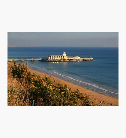 Pier from the West Cliff Photographic Print