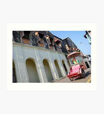 Iconic trishaw, George Town, Penang Art Print