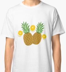Fun and Funky Pineapples Classic T-Shirt