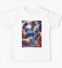 Chun-Li Street Fighter 2 Fan print Kids Tee
