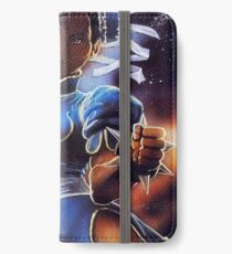 Chun-Li Street Fighter 2 Fan print iPhone Wallet/Case/Skin