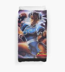 Chun-Li Street Fighter 2 Fan print Duvet Cover