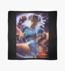 Chun-Li Street Fighter 2 Fan print Scarf