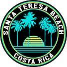 Surfing Santa Teresa Costa Rica Surf by MyHandmadeSigns