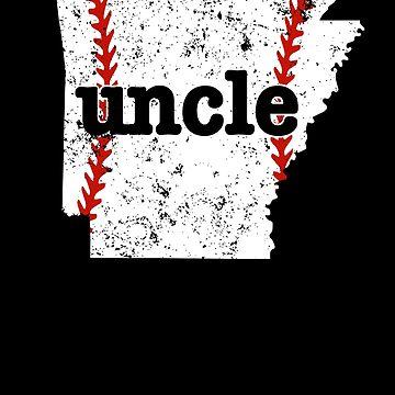 Best Uncle Baseball Shirt Arkansas Softball Uncle by shoppzee