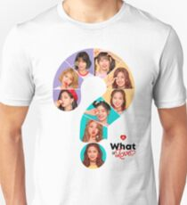 WHAT IS L TWICE Unisex T-Shirt