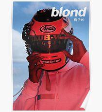 Frank Ocean Helmet Poster Poster