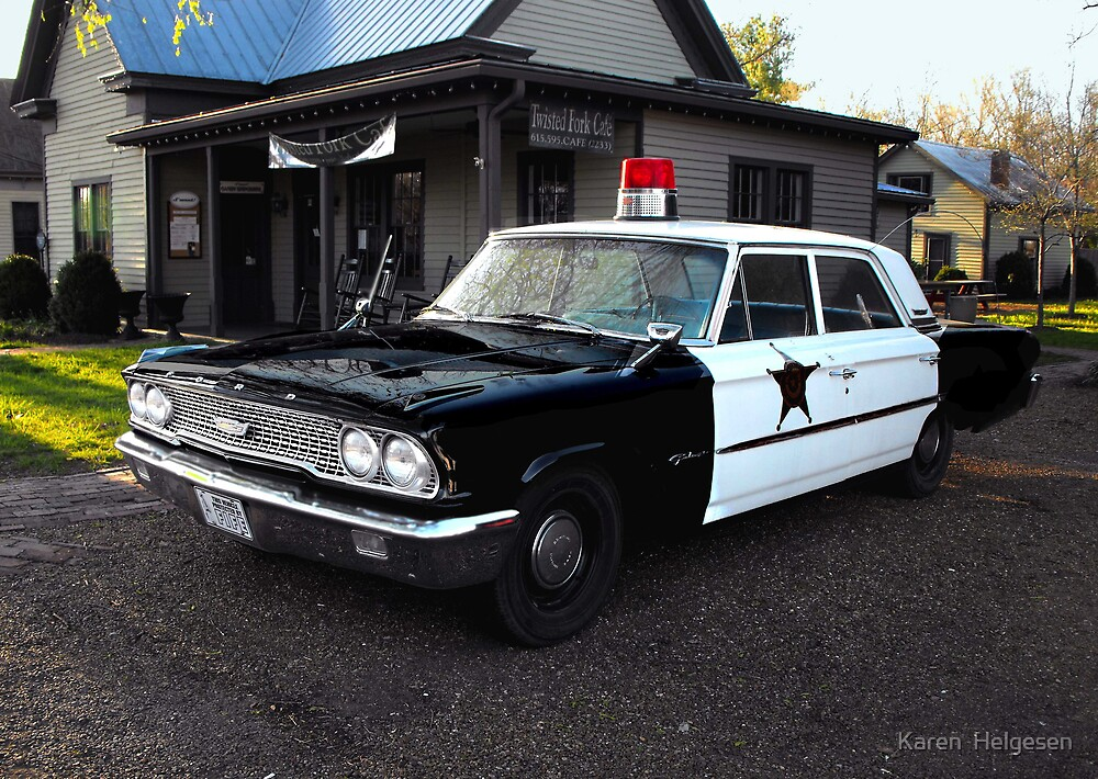 Andy of Mayberry's Car...via Leipers Fork  Tennessee.... by Karen  Helgesen