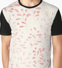 Seamless pattern with watercolor flowers Graphic T-Shirt