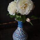 Texas Rose in Persian Vase by WatlingBates