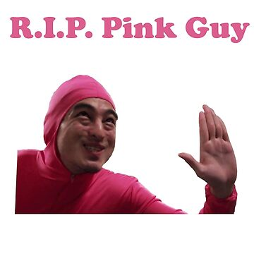 Rest In Peace Pink Guy 2011-2017 by dashel