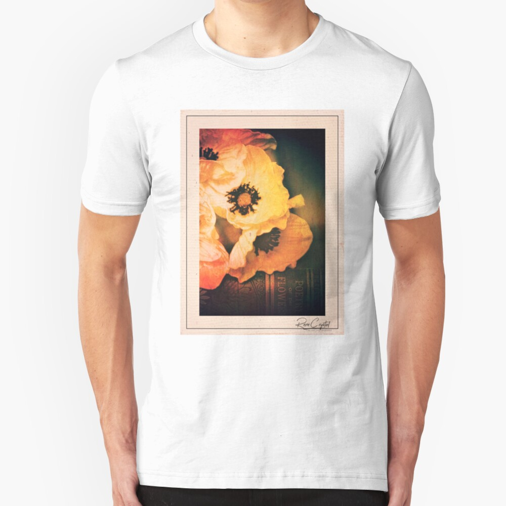 Poppies Gone Old Master Slim Fit T-Shirt