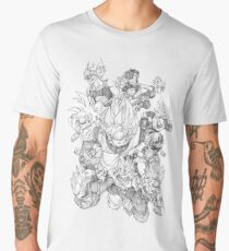Dragon Ball Characters Men's Premium T-Shirt