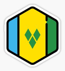 St vincent and the grenadines Sticker