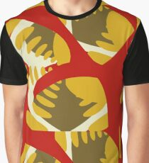 Homage to Matisse Leaf Graphic T-Shirt
