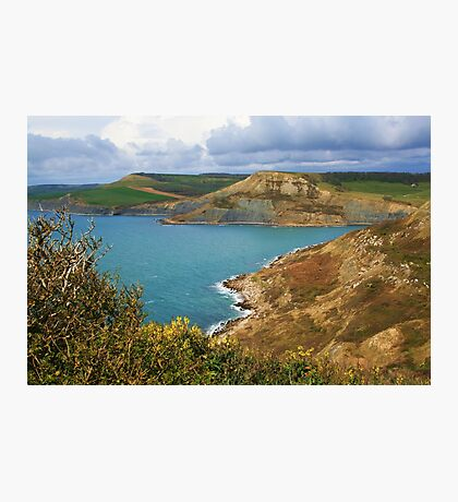 Rope Lake Head & Houns Tout Cliff Photographic Print