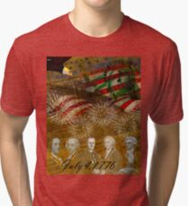 4th of July Celebration Tri-blend T-Shirt