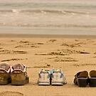 Shoes on the Beach by Buckwhite