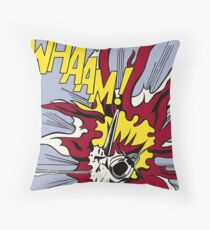 WHAAM! Throw Pillow
