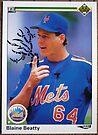 023 - Blaine Beatty by Foob's Baseball Cards