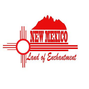 New Mexico Land of Enchantment by NewMexicoTees