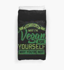 Veganer Bettbezug