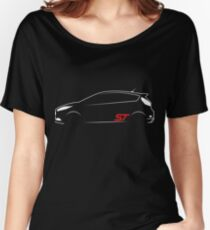 Ford Fiesta ST Vector Women's Relaxed Fit T-Shirt