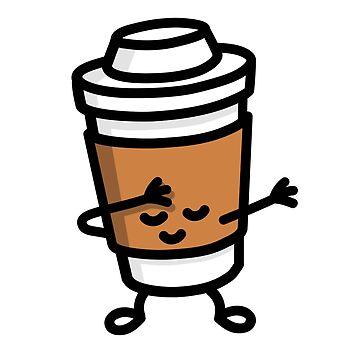 Dab / dabbing cardboard coffee cup by LaundryFactory