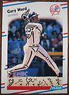 030 - Gary Ward by Foob's Baseball Cards