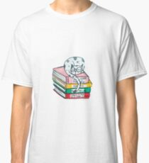Read and sleep, cat's life Classic T-Shirt