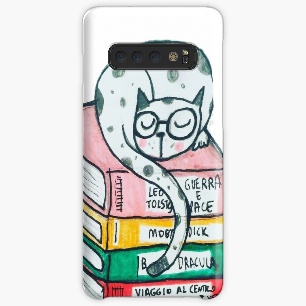 Read and sleep, cat's life Case & Skin for Samsung Galaxy