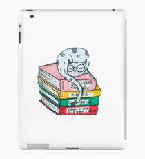 Read and sleep, cat's life iPad Case/Skin