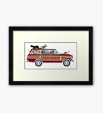 Wags in a Waggy Framed Print
