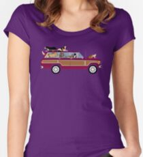 Wags in a Waggy Women's Fitted Scoop T-Shirt