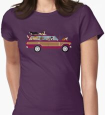 Wags in a Waggy Women's Fitted T-Shirt