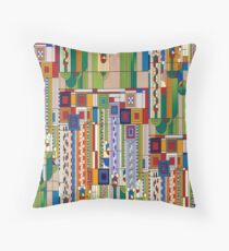 Saguaro by Frank Lloyd Wright Floor Pillow