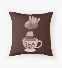 Tea Time  Floor Pillow