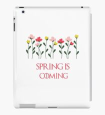 Spring is coming iPad Case/Skin