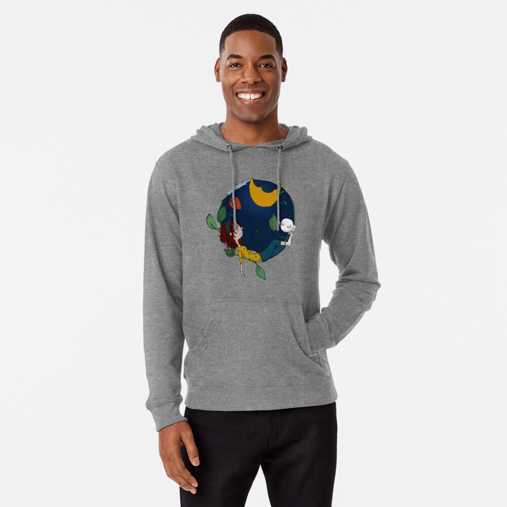 Lux under the moon Lightweight Hoodie