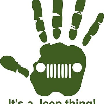Jeep wave! It's a jeep thing! by gijst