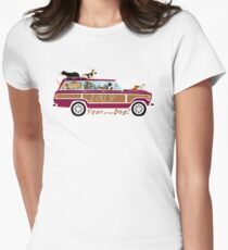 Year of the Dog - Waggies in a Waggy Women's Fitted T-Shirt