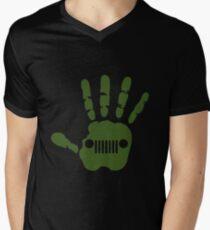 Jeep Wave  Men's V-Neck T-Shirt