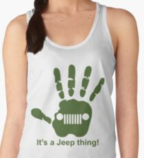 Jeep wave! It's a jeep thing! Women's Tank Top