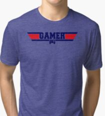 Top Gamer Tri-blend T-Shirt